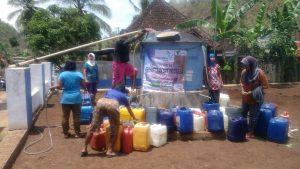Distribusi Bantuan Air Bersih PBMT Maal DIY di Kecamatan Rongkop, Gunung KIdul