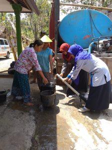 Distribusi Air Bersih Dusun Jambu, Giricahyo, Purwosari, Gunung Kidul