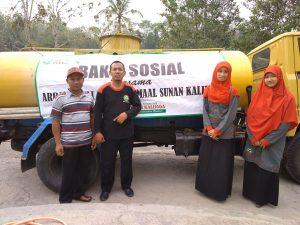 Dropping Air bersih di Dusun Wonolagi, Giritirto, Purwosari